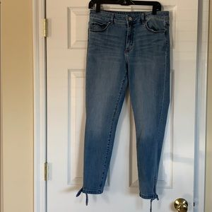 Ann Taylor Curvy Fit Cropped Jeans